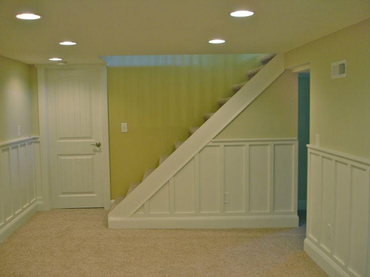 Beautiful basement wainscoting