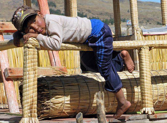 Peru, Het Titicacameer, Uros