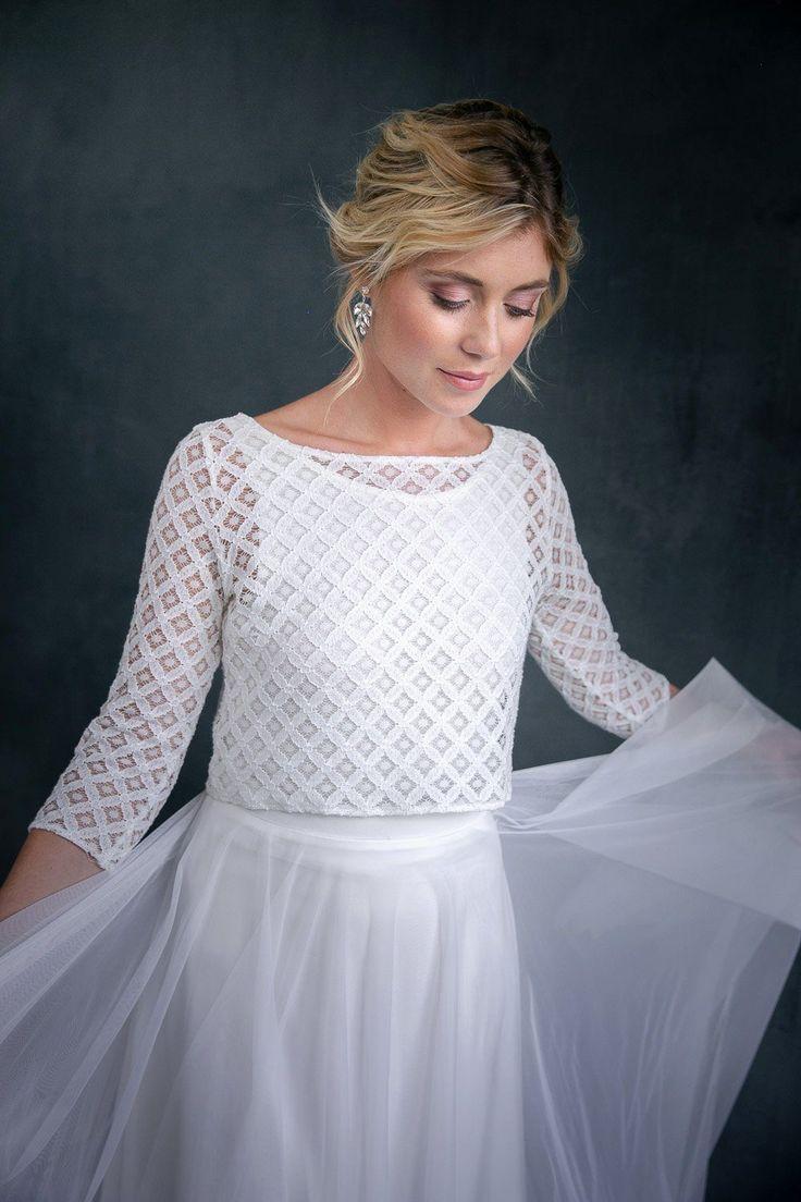 Pin Auf Brautkleider Mit Spitze Moderne Spitze Im Boho Style