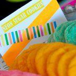 Neon Blacklight Birthday Party Food Snacks Ideas Cookies