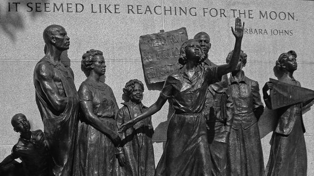 The girl who sparked Brown v. Board of Education