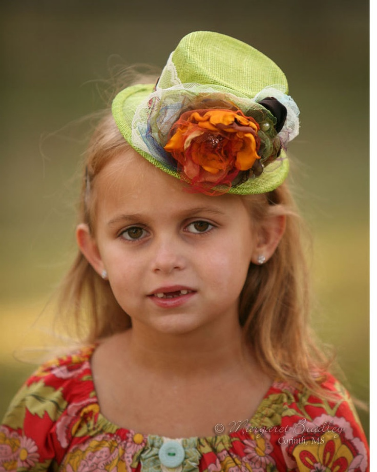 Little Jane Mini Mad Hatter Hat.  Coordinates beautifully with Matilda Jane and Persnickety clothing.. $79.99, via Etsy.