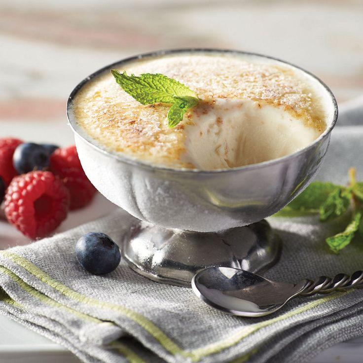 Vanilla Ice Cream Brulee. Simply scoop Central Market Tahitian Vanilla ...