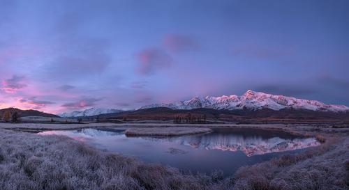 Фотограф Сергей Ершов (Sergey Ershov) - утро на озере #1491662. 35PHOTO