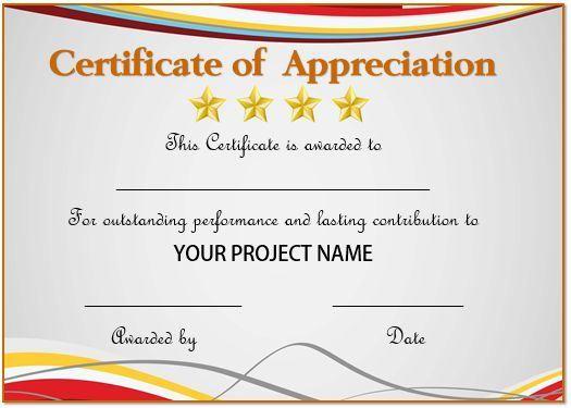 simple but good certificates downloadable