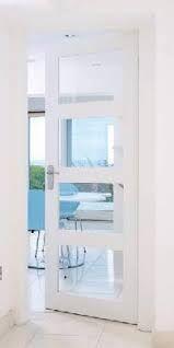 Panelled glazed door option