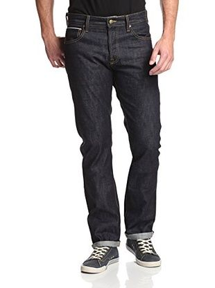 60% OFF Agave Men's Maverick Slim Cut Straight Leg Selvage Jean (Kuroki Raw Indigo)