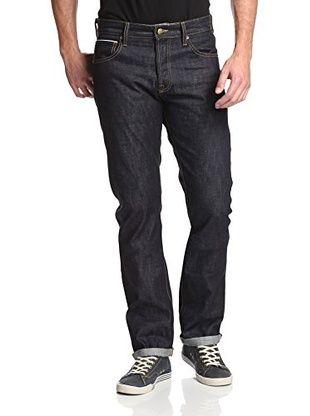 60% OFF Agave Men's Maverick Slim Cut Straight Leg Selvage Jean (Kuroki Raw Indigo)