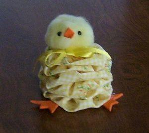 Tutorial: Easter yo-yo chickSharon Shumaker