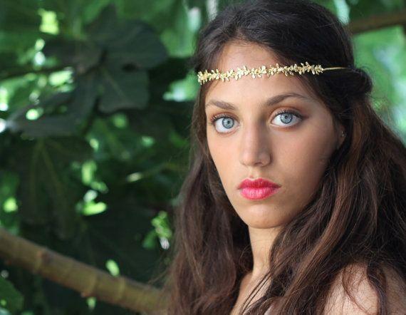 Jaime Wreath Durable Hair Chain Romantic Tiara by avigailadam, $90.00