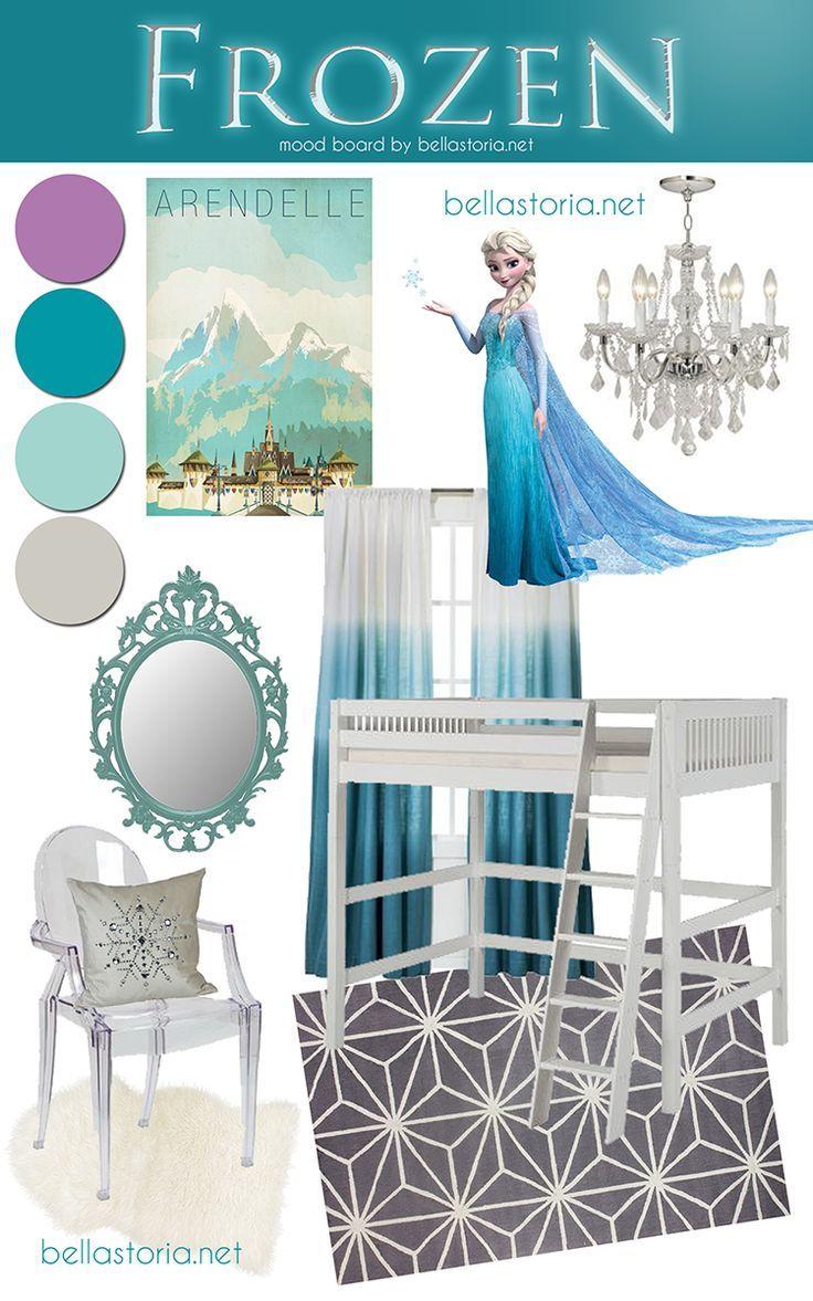Frozen inspired bedroom - Decoracion De Recamara De Frozen 29 Disney Frozen Bedroomthemed