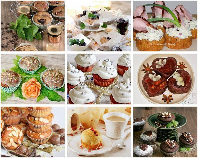 DAYLICOOKING sprawdzone i proste przepisy - blog kulinarny: Babeczki na 9 sposobów