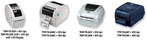 "TSC Desktop Direct Thermal Label Printer - 7 ips/ 203 dpi - Print Width 4.25"" - TDP-TS-247. Direct thermal label printer. Resolution: 203 dpi. Print speed: 7 in./ sec. Print width 4.25"". Print Length: 90"". TSC Desktop Printer. No Returns - All sales are final."