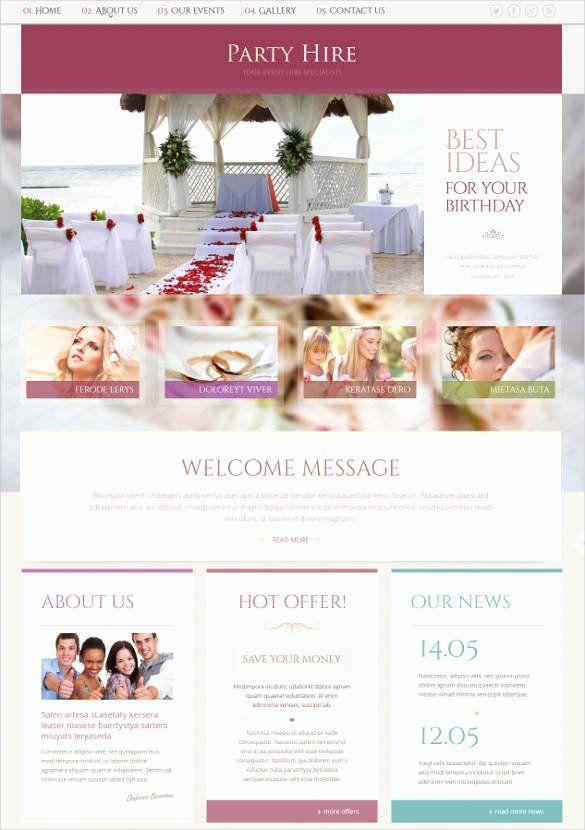 Wedding Planner Website Template Elegant 33 Event Planning Website Themes Templates Event Planner Website Event Planning Website Wedding Planner Website