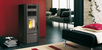 ECOFIRE Jessica , Wood Pellet Stoves by Palazzetti