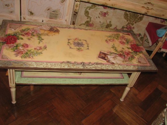17 best ideas about decoupage coffee table on pinterest for Coffee table craft ideas