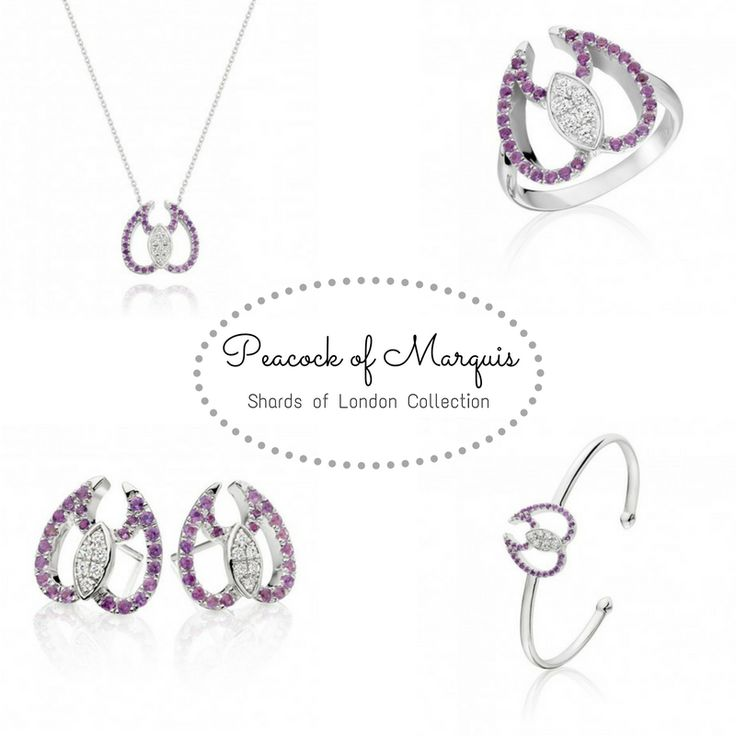 Original 💜 Quirky 💜  Confident?  This collection is for you👉http://www.shardsoflondon.com/peacock-of-marquis   #Jewellery #Jewelry
