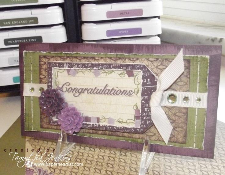 by Tamytha JenkinsScrapbook Ideas, Ctmh Sonoma, Tamytha Jenkins, Ctmh Cards, Sonoma Paper