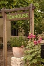One of my favorite places, The Teahouse on Canyon Road.  After 4 hours of browsing art galleries you come to the end of Canyon Road and are met with a delightful garden and a cup of tea. Ahhh...  Insider Tip: try the Lavender Lemonade, tastes like summer! Visit Santa Fe, The City Different, Charming 2 bedroom adobe in town - walking distance to the plaza.  #VacationRental in Santa Fe, New Mexico. Available October, November, December 2016. Great winter rates…