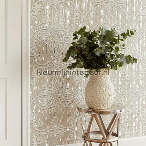 Holografische moderne barok behang 342022 Interieurvoorbeelden behang Eijffinger