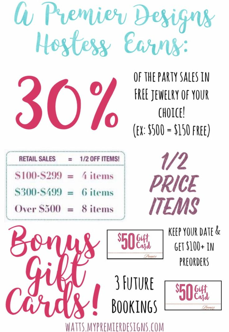 Premier Designs Hostess benefits!! How generous can you get?! So much free jewelry when you book a party!!  check out more on my website!!