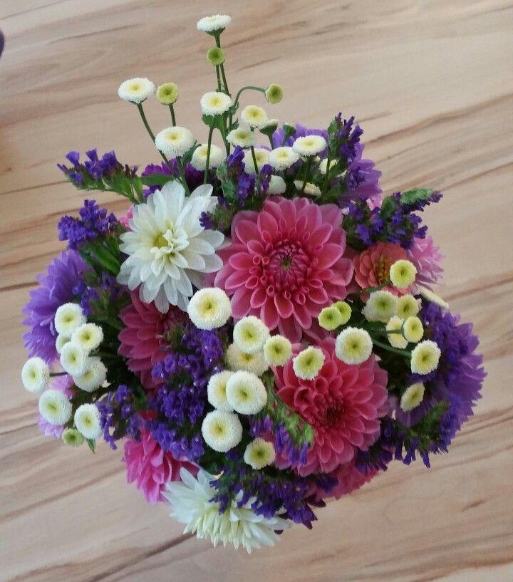 mein 1. selbst gestalteter Blumenstrauß
