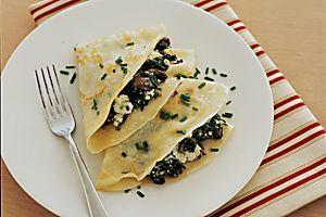 Crepes With Mixed Mushroom Recipe - Taste.com.au