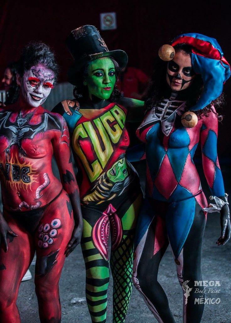 MEGA Body Paint México #SomosRockFST 21.05.16 @ Carpa Astros, CDMX.
