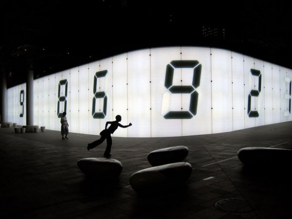 A wall goes digital in Roppongi Hills, a shopping and entertainment complex in Tokyo that boasts an arena, restaurants, and residences, as well as a 360-degree view of the city from the top of its centerpiece, the Mori Tower. The development's art museums and exhibits have made it a popular cultural destination.