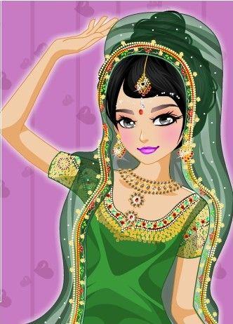 Barbie games dress up and makeup wedding