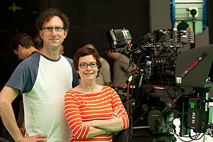 Aunt Marlene and Philip, they make movies about Canadian dancers