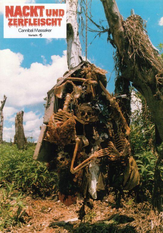 Cannibal Holocaust, German lobby card. 1980