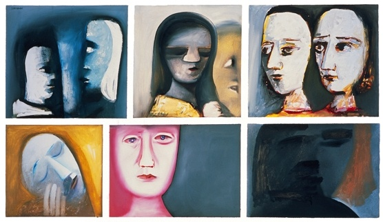 Ursula, the mc, is an artist. I like this painting by Charles Blackman because it's quite haunting.