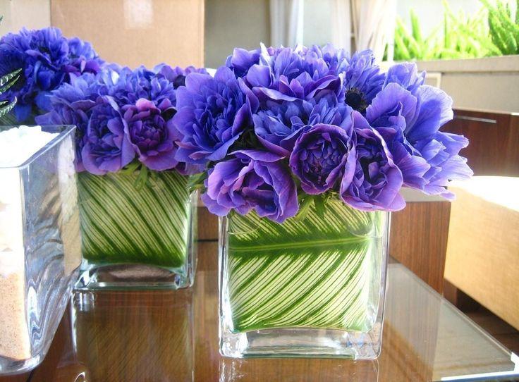 Цветы, синие, букеты, зелень, оформление обои, картинки, фото