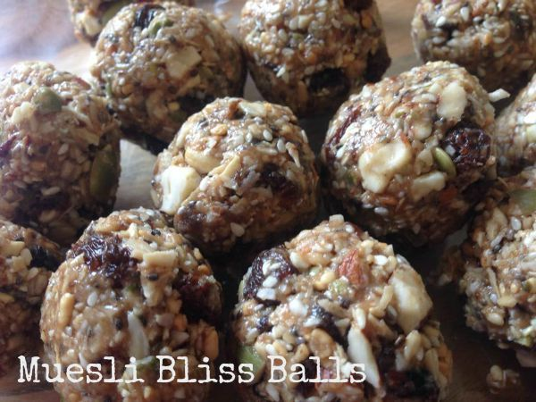 Muesli Bliss Balls