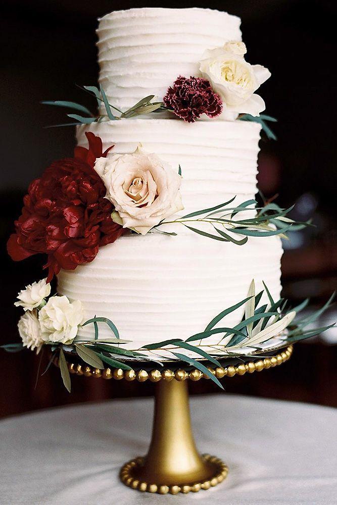 Weddingforward Small Rustic Wedding Cakes