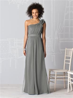 This IS Megan's dress. My beautiful bridesmaid in a beautiful gown! LOVE.