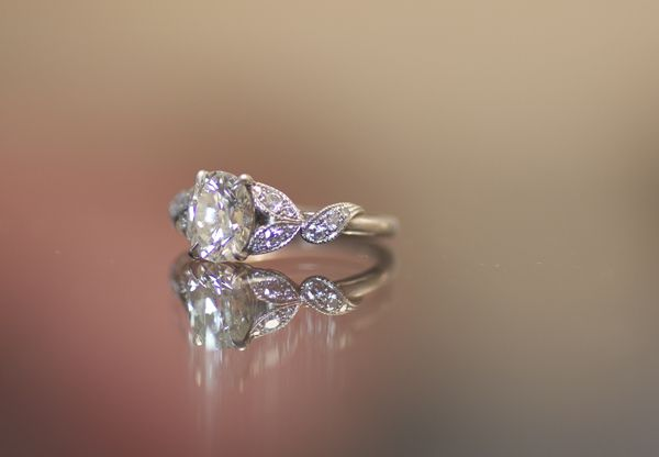 Dream Wedding Ring Missing Diamonds