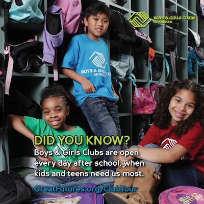 School is Almost Out - Time to Check Out Boys and Girls Clubs of America
