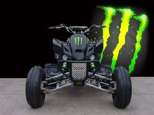 Monster Energy Bike Cars To Trucks Or Anything On Wheels
