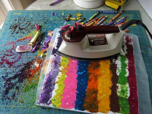 Crayon art!Canvas Art