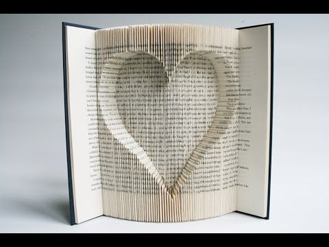 Folded Book Art - Best & most clear Tutorial available - All