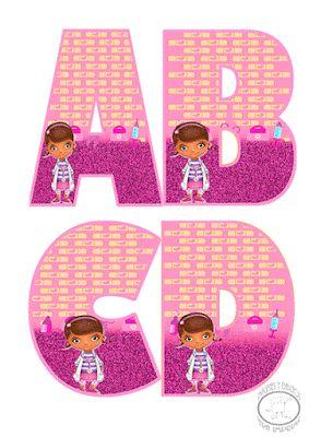 abecedario de doctora juguetes para imprimir ya puedes tener a la doctora juguetes en tus cumpleaos fiestas infantiles de