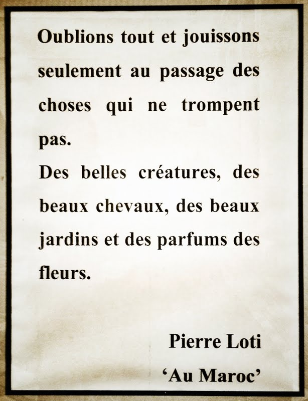 "Pierre Loti - ""Au Maroc"".  © Copyright Yves Philippe"