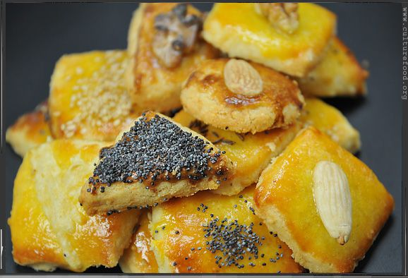 Pikantes Butter-Käsegebäck | Culture Food Blog - ein kulinarisches Tagebuch für Gourmets