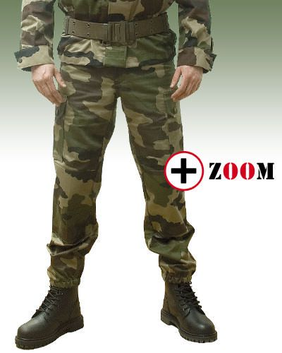 Pantalon pince F2 AT CAMO - Militaires/Pantalons / Vestes - securicount