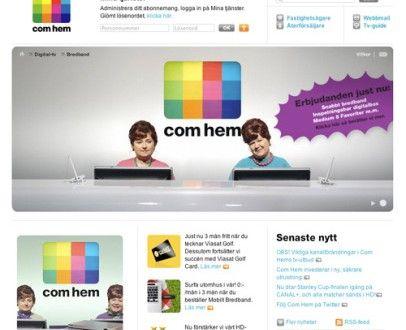 اسعار bredband والسرعات من comhem | لايف سويدين