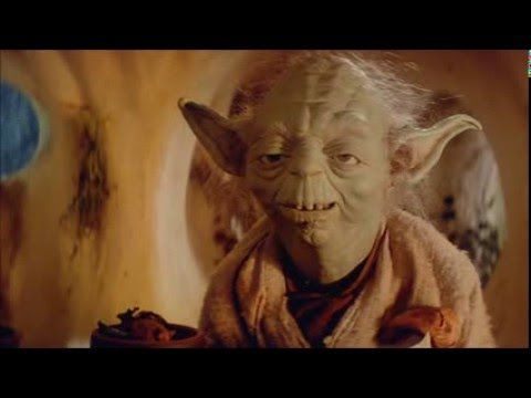 Yoda - Rockin' and Rollin' (Bad Lip Reading) - YouTube (One of those posts where I'm not sure what board to pin it to.)