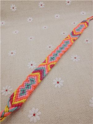 Charm Woven Rope String Hippy Boho Embroidery Cotton Friendship Bracelets