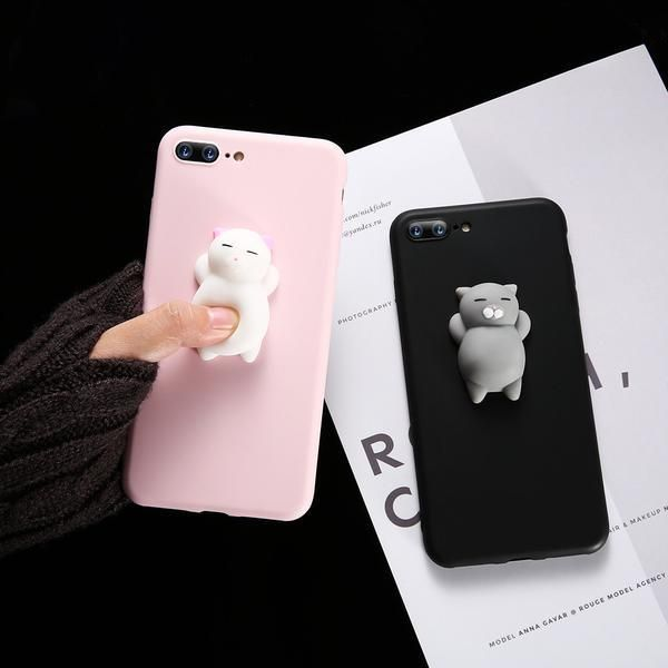 Super cute and soft iPhone cover, protects your phones from dirt ...